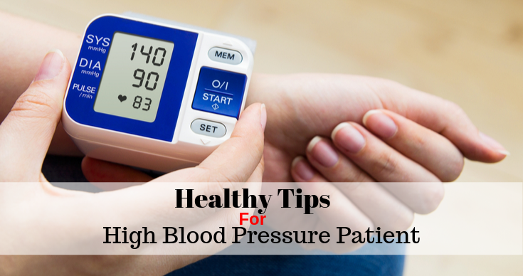 Tips For High Blood Pressure