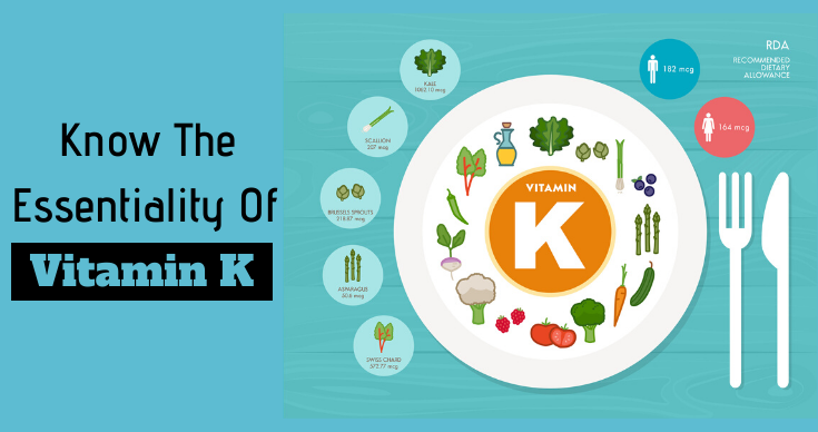 Know The Essentiality Of Vitamin K